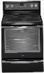 "WFE715H0EE 30"" Freestanding Electric Range with 6.4 cu. ft. Capacity 5 Cooking Elements AquaLift Self-Clean Technology Convection Rapid Preheat Warming"