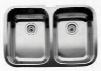 440083 Double Basin Stainless Steel Kitchen Sink from the BlancoSupreme Series 9
