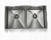 SS-12Ri-D1 Lenova SS-1/2Ri-D1 31 inch undermount 50/50 double bowl 16 gauge stainless steel kitchen