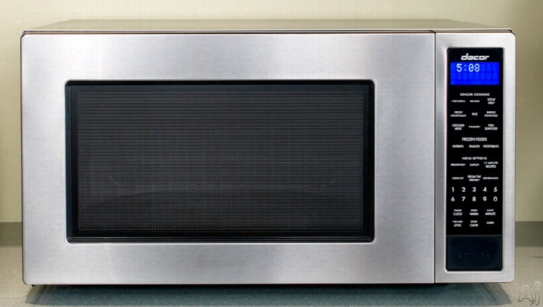 Dacor Distinctive Dmw2420 2.0 Cu. Ft. Countertop Micrwave Oven With 1,100 Cooking Watts, Sensor Modes, Keep Warm Option, Three Defrost Options, Auto Start Option And Blue Led Display