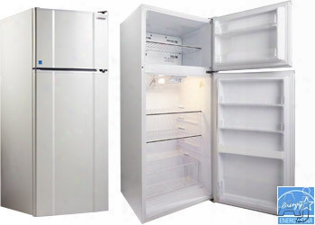 Microfridge 103xmf4rx 10.3 Cu. Ft. Top-mount Refrigerator With 2 Wire Shelves, Stay Fresh Produce Drawer, 4 Door Shelves, 1 Freezer Shelf, 2 Freezer Door Shelves And Energy Star Rated