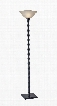 1521-01 Stratton Tall Floor Lamp Painted Black