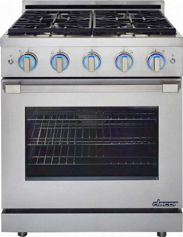 "Rnrp30gsngh 30"" Renaissance Series Slide-in Gas Range With 4 Sealed Simmersear Burners 5.2 Cu. Ft. Capacity 63000 Total Btu Illumina Oven And Burner"