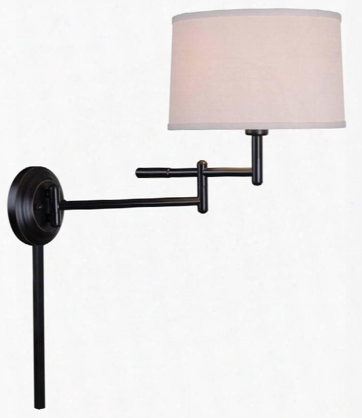20942cb Theta Wall Swing Arm Lamp In Copper Bronze