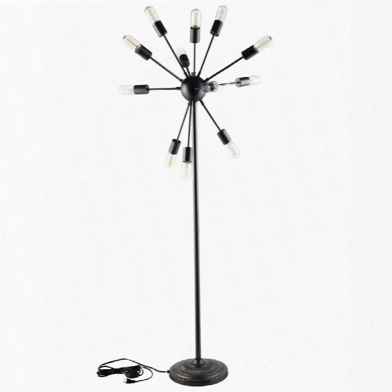 Eei-1563 Spectrum Floor Lamp In Black