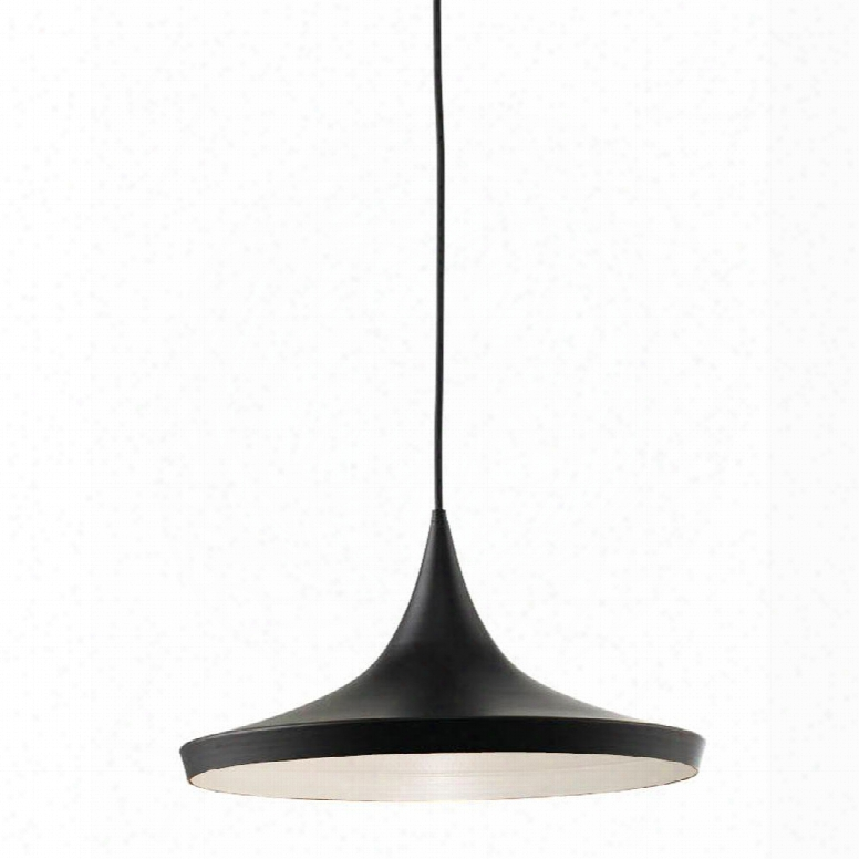 B6002 Berkley Black Single Light Pendant