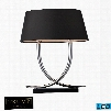D1486-LED Trump Home Park East 2 Light LED Table Lamp In Chrome And