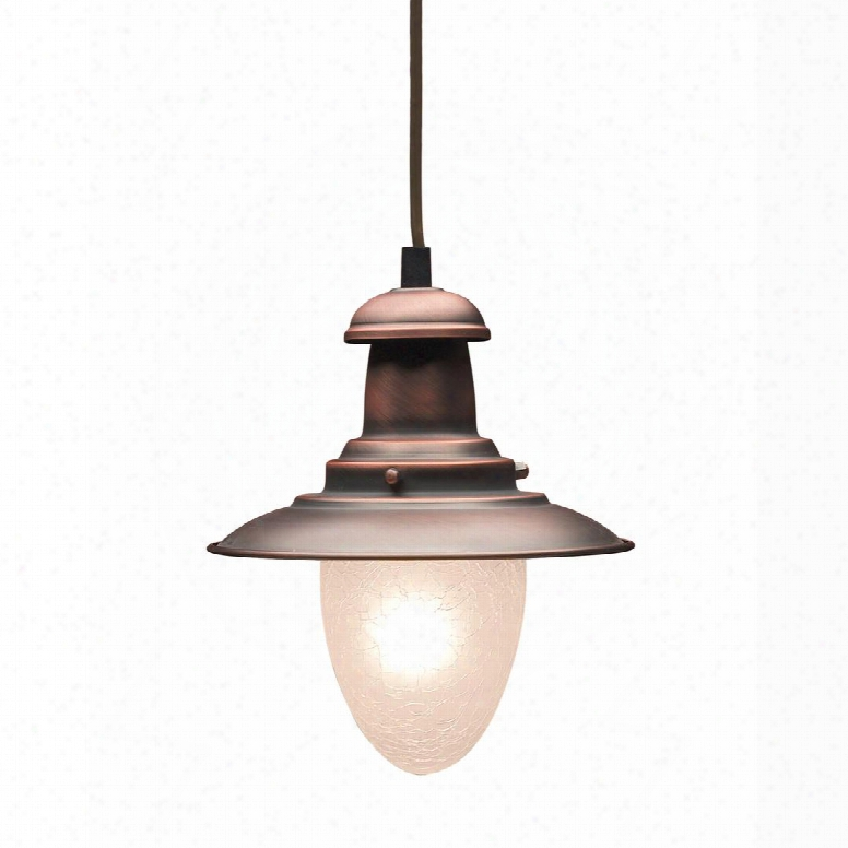010-ac Railroad 1-light Pendant In Antique