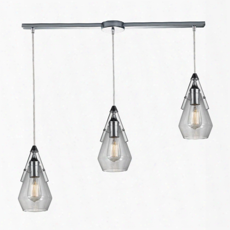 46171/3l Duncan Light Pendant In Polished