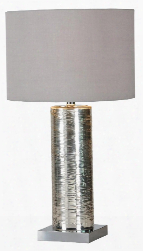 Lpt265 Lingby Table Lamp Table Lamp In Silver