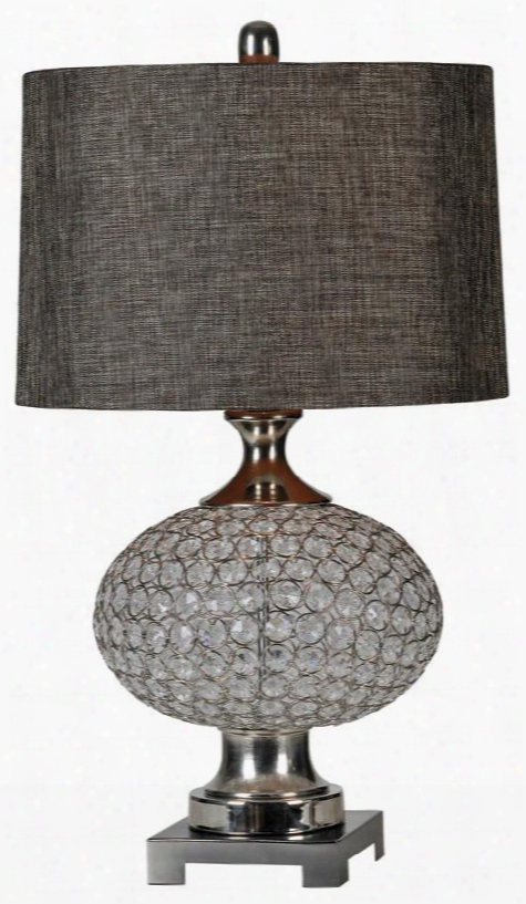 Lpt421 Delancey Table Lamp Table Lamp In Silver