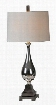 LPT454 Jerrica Table Lamp in Silver