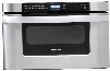 """KB-6524PS 24"""" Built-in Microwave Drawer Oven with 1.2 cu. ft. Capacity 1000 Cooking Watts 11 Power Levels Sensor Cook/Reheat Settings and Angled Digital"""