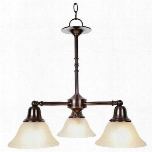 Monument 617237 Sonoma Decorative Vanity Fixtures, 3 Light Chandelier, Oil Rubbed Bronze 617237