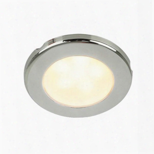 Hella Marine Led Down Light, Warm White Color With 316 Stainless Steel Rim