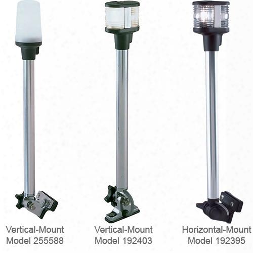 Perko Fold Down Combination Masthead/white All-round Light With Horizontal Mount