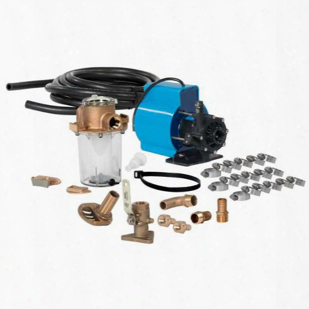 Webasto Seawater Kit With 230v Kool Air Pm1000, 12k To 16k Btu, Water Cooled