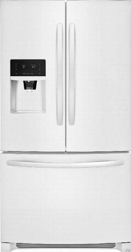 Frigidaire Ffhb2750tp 36 Inch French Door Refrigerator With Puresource Lttraã'â®ii Filtration, Adjustable Interior Storage, Multi-level Led Lighting, Fair Tempã¢â�žâ¢, Dual Ice Ready, Store-moreã¢â�žâ¢ Shelves And 26.8 Cu. Ft. Capacity: Pearl