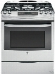 GE JGS750SEF 30 Inch Slide-in Gas Range with Convection, Power Boil Burner, Precise Simmer, GE Fits! Guarantee, Storage Drawer, Self-Clean, 5 Sealed Burners 5.6 cu. ft., ADA Compliant and Star-K® Certified