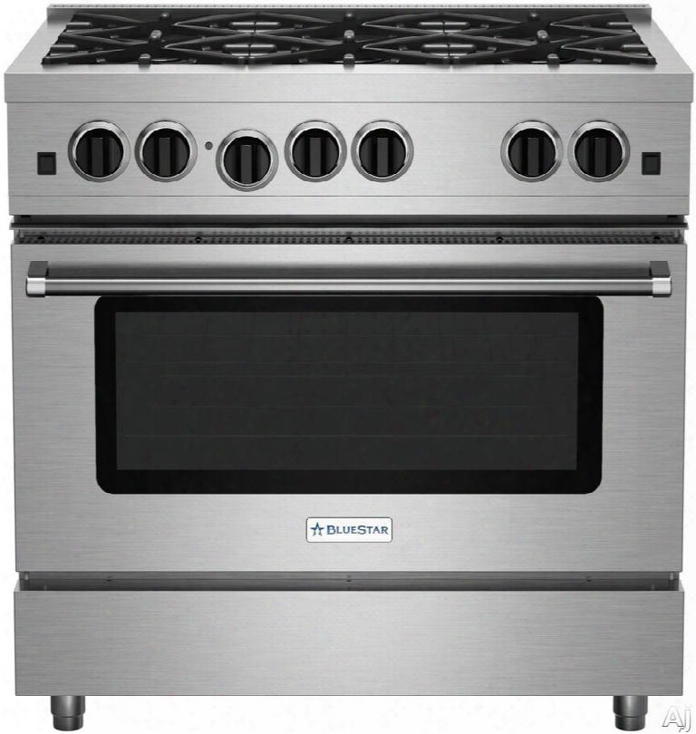 Bluestar Sealed Burner Series Rcs36sbv2 36 Inch Pro-style Gas Range