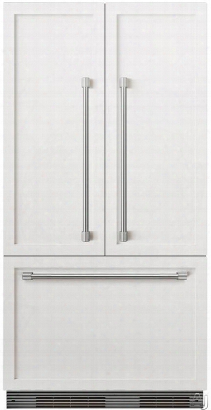 Dcs Activesmart Series Rs36a72jc1 36 Inch Built-in Panel Ready French Door Refrigerator With Activesmartã¢â�žâ¢ Technology, Fast Freeze, Ice Maker, Ice Boost, Led Lighting, Adaptive Defrost, Smart Touch Controls, 16.8 Cu. Ft. Capacity, Energy Star And Sab
