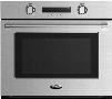 DCS WOSV230 30 Inch Electric Wall Oven with 4.1 cu. ft. Capacity, 10 Cooking Modes, Convection, Temperature Probe, Roast Dish, Full Extension Telescopic Racks, Interior Halogen Lighting, Sabbath Mode and Self Clean