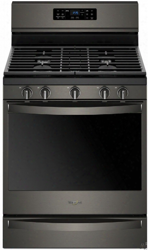 Whirlpool Wfg775h0h 30 Inch Freestanding Gas Range With Convection, Temperature Sensor, Aqualiftã'â® Self-clean, Rapid Preheat, Griddle, Frozen Bakeã¢â�žâ¢, Speedheatã¢â�žâ⢠Burner, Ez-2-liftã¢â�žâ¢ Grates, 5.8 Cu. Ft. Capacity, 5 Sealed Burners And Sabba