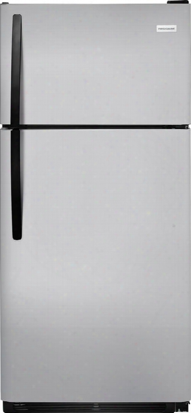 """Ffht1832tm 30"""" Energy Star Rated Top Freezer Refrigerator With Led Lighting 18 Cu. Ft. Capacity Ada Compliant 2 Full Width Spillsafe Glass Shelves And 1"""