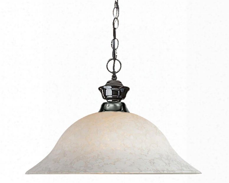 """Pendant Lights 100701gm-wm16 16"""" 1 Light Pendant Traditional Classicalhave Steel Frame With Gun Metal Finish In White"""