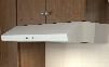 """AK6500BW 30"""" Essentials Power Series Cyclone Under Cabinet Range Hood with 600 CFM 5 Sones 2 Halogen Lighting Self Cleaning 3 Fan Speeds and Self Cleaning"""
