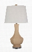 """Suellen L100414 29"""" Ceramic Table Lamp with Glazed Ceramic and Acrylic Modified Drum Shade and 3-Way Switch in"""