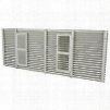 AGK01SB Exterior Architectural Aluminum Grill: Custom Colored Baked