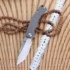 YX-650 Original Free Shipping Sand Blasting Non-slip Gray Titanium Handle Folding knife D-2 Blade Hunting Outdoor Survival Pocket Knife
