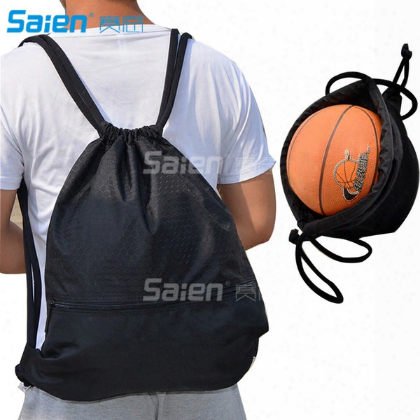 Esvan Proof Gymbag Large Drawstring Backpack Gymsack Sackpack For Sport Traveling Basketball Yoga Running