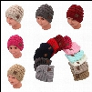 12 Colors Kids CC Beanies Baby CC Hats Children Winter Hats Kids Knitted Caps Outdoor Sports Caps Crochet CC Caps CCA7844 150pcs