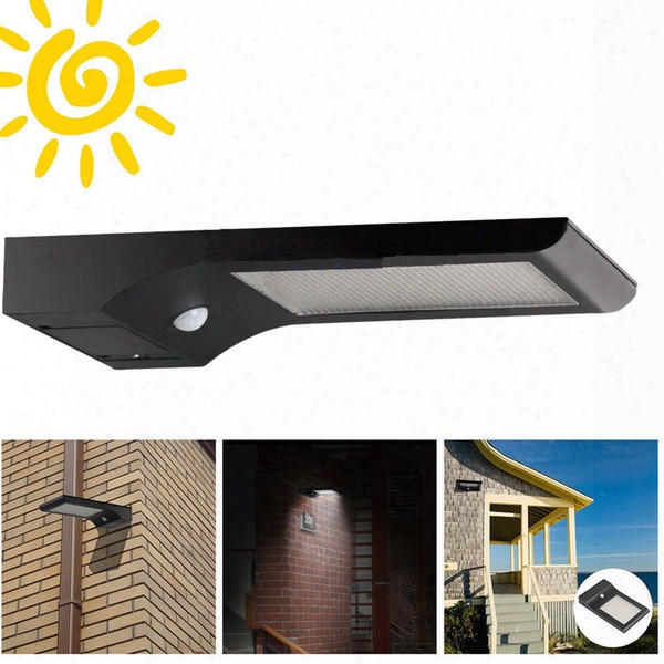 Super  Bright 48 Led 5w Waterproof Ip65 Solar Lamp Outdoor Street Security Road Light Wall Garden Thin Solar Lamp Light