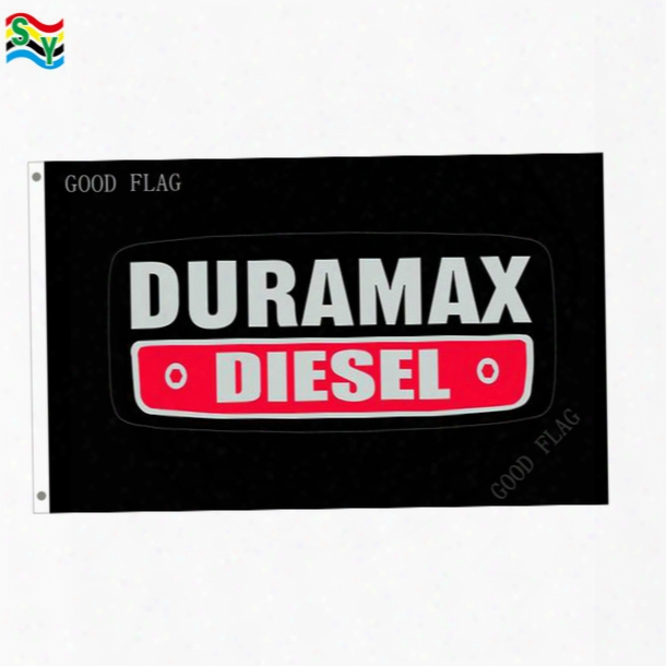 Goodflag Free Shipping Duramax Diesel Flags Banner 3x5 Ft 90*150cm Polyster Outdoor Flag