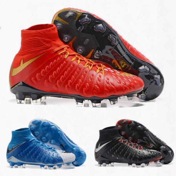 Original Hypervenom Phantom Iii 3 Df Fg Football Boots Hypervenom Phantom Iii Soccer Shoes Soccer Boots Outdoor Football Cleats Shoes 39-45