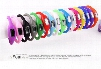 Candy Color Anion pedometers Silicone Fitness Tracker Wristband Rubber Bracelet pedometer Portable For Outdoor Sport Xmas Kid Gifts D873