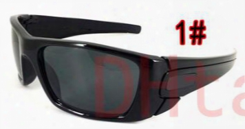10pcs Summer New Man Fuel Cell Sunglasses Brand Cycling Sports Outdoor Sun Glasses Woman Bicycle Eyeglasses Eyewear 5colors A++free Shipping