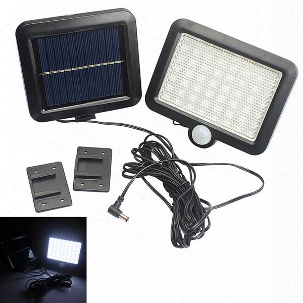 Solar Power Led Garden Lawn Lights Outdoor Pir Human Sensor 56 Led Solar Motion Detection Wall Light Leg_22f
