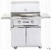 Lynx Sedona Series L500PSF 30 Inch Freestanding Gas Grill with 46,000 BTU, 733 sq. in., LED and Halogen Illumination, Stainless Steel Grilling Grates, Ceramic Briquettes and Spark Ignition