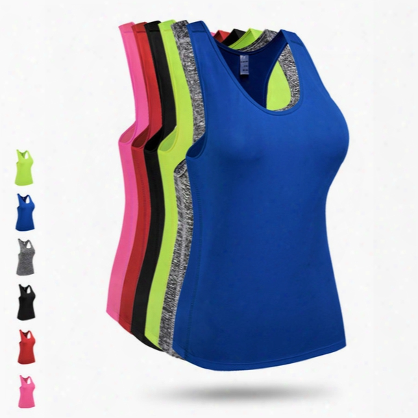 New Brand Yoga Sleeves Tshirt Sport Vest Women Running Tank Tops For Fitness Training Outdoor Apparel Clothes Girls Wear Plus Size Xxl F806