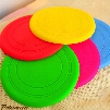 Pet Toys for Dogs Dog Frisbee Multi Colors Soft Toys Throwing Safe Non-Toxic Perfect For Pets Outdoor Playing Training