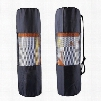 The new type of outdoor sports waterproof portable multifunctional breathable mesh yoga mat package Yoga Bag (black)