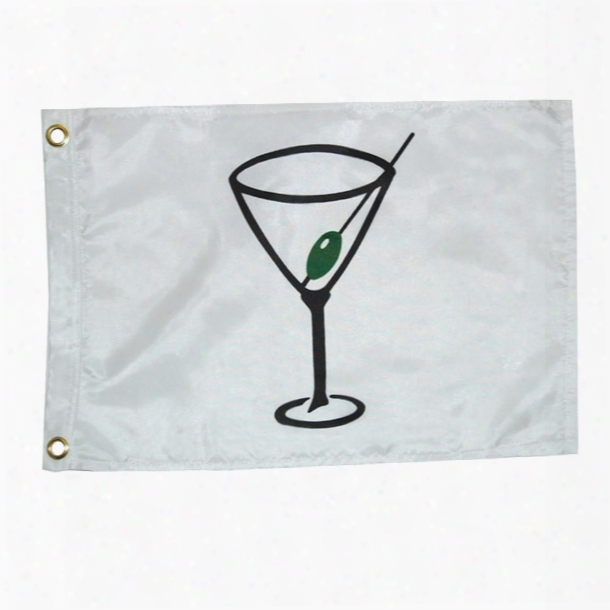 Taylor Made Cocktail Flag, 12 X 18