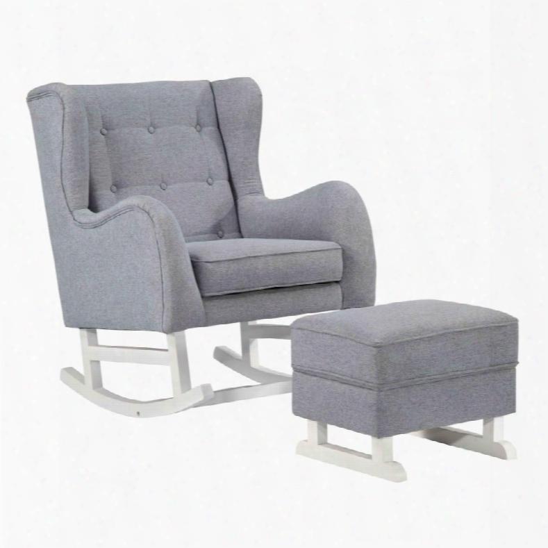 Fmi10263-gray Baby Lounge Chair
