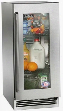 """Hp15ro-3-3rc 15"""" Signature Series Outdoor Compact Refrigerator With 2.8 Cu. Ft. Capacity Rapidcool Forced-air Refrigeration White Or Blue Led Lighting And"""
