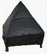 """29362 Tudor 24"""" Fire Pit Cover with Elastic Bottom and PVC Material in"""