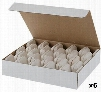 05004CM 6 Boxes of 60 Gas Grill Ceramic Briquettes (360